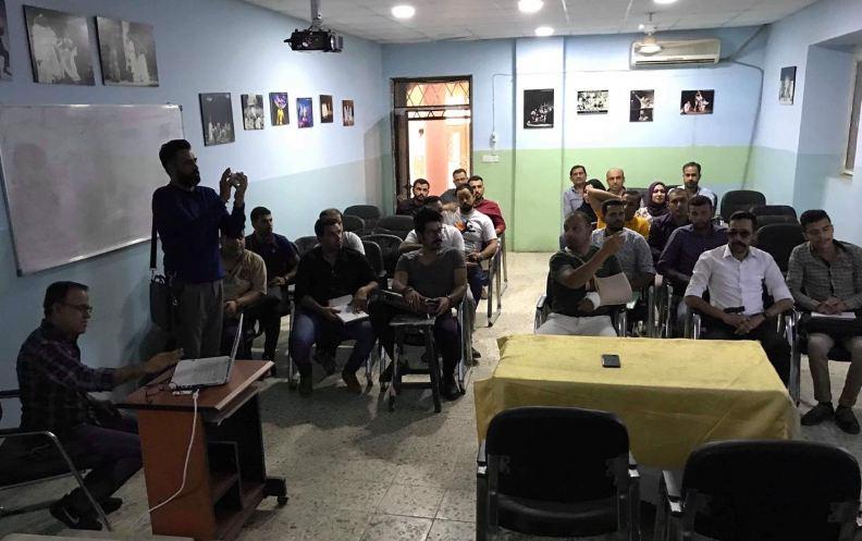 ورشة عمل حول انواع المجلات المعتمدة من قبل جامعة بغداد