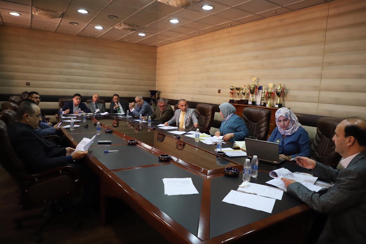 كلية الفنون الجميلة تستضيف اجتماع  تحسين ضمان الجودة لكليات الفنون الجميلة  والتطبيقية في العراق