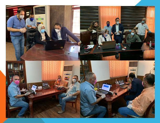 بمشاركة 110طالب من الدراسات العليا… كلية الفنون الجميلة بجامعة بغداد تعلن نجاح تجربة الامتحان الالكتروني