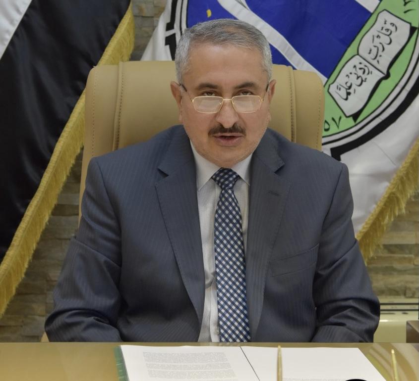رئيس جامعة بغداد يقدم التهاني والتبريكات للكوادر التدريسية المعطاء بمناسبة يوم المعلم